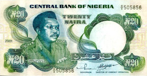 twenty naira note old